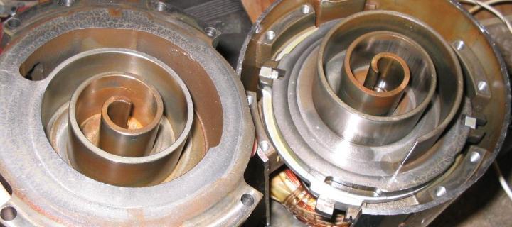 Air Conditioner Scroll Compressors